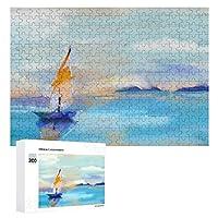 日光 300ピースのパズル木製パズル大人の贈り物子供の誕生日プレゼントの海景絵画