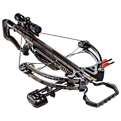 Barnett Whitetail Hunter II Crossbow | Shoots 350 FPS | Includes 4x32...