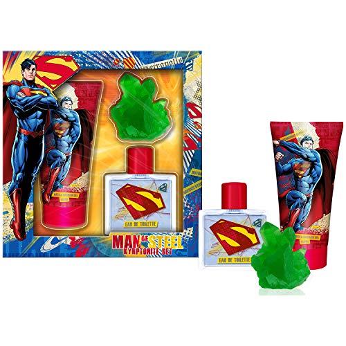 Avengers Geschenkpackung - Eau de Toilette 50ml - Duschgel 150ml und Seife - Superman, 476 g