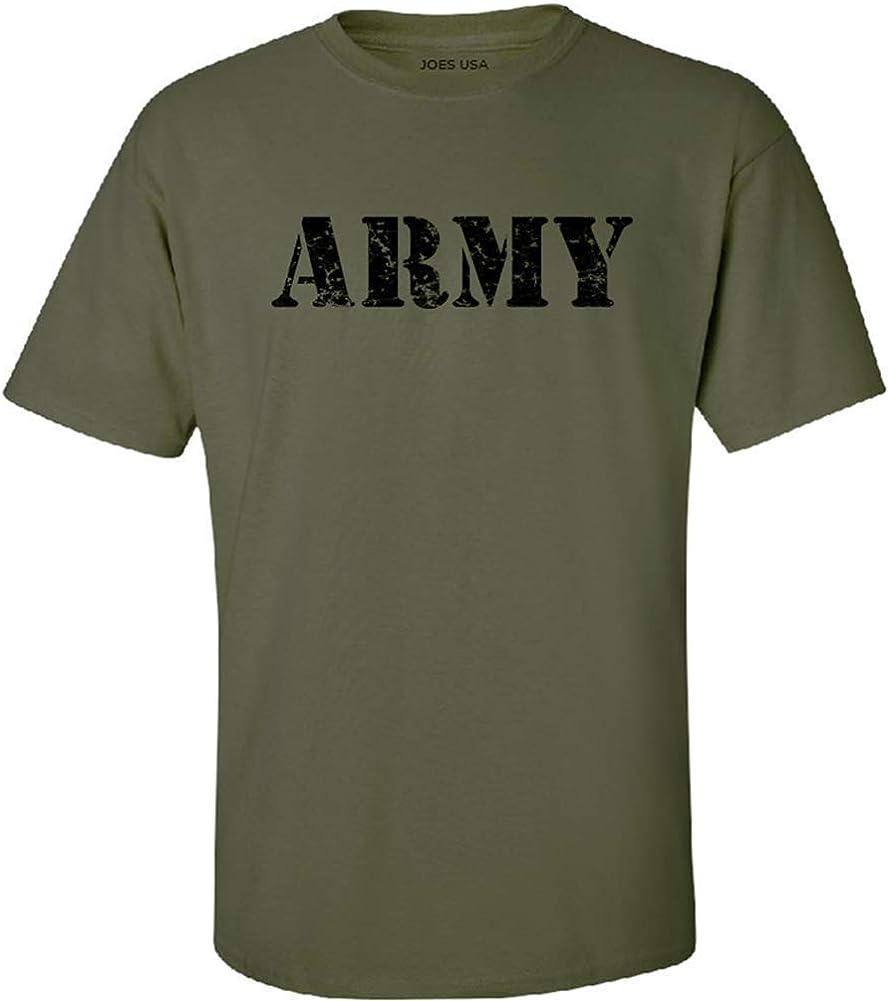 Joe's USA-Tall.Vintage Army Logo T-Shirts-OliveGreen X-Large Tall -XLT