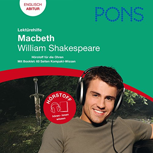 Macbeth - Shakespeare Lektürehilfe. PONS Lektürehilfe - Macbeth - William Shakespeare cover art