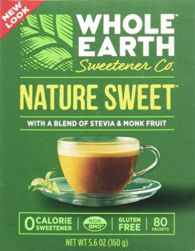 Whole Earth Nature Sweet With Stevia & Monk Fruit Sweetener 5.6 oz
