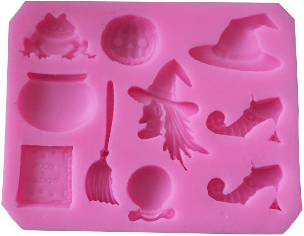 Halloween Party Sugar Silicone low-pricing Mold Cake Decorating Hat Pu Manufacturer regenerated product Tools
