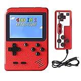 Hanbee Consola de Juegos Portátil, 400 Juegos Retro 3 Pulgadas Pantalla a Color Soporte para Jugadores Duales y...