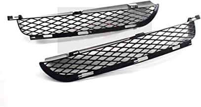 For BMW X5 E53 SUV Sprot LCI 2004-2006 Front Lower Bumper Mesh Grille Lattice Radiator Grill Cover(a pair)