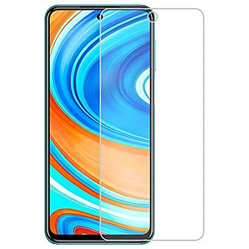 Shoppitzzo Screen Protector/Redmi 9s /Crystal Clear Screen Guard Full Flat Screen Coverage - Except Edges, High Definition Flexible Impossible Fiber Film - Not Tempered Glass(Pack of 2)