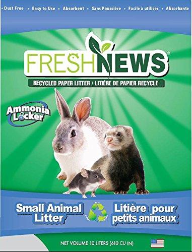 Fresh News Paper Small Animal Litter, 10,000-Cubic Centimeter