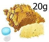 20g Gold Pulver Glitzer Monstercolours Lebensmittelfarbe +1 Mischröhrchen gratis