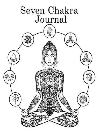 Seven Chakra Journal: Medieval Renaissance Pentagram Notebook For 90 Daily Spells - 3 Month Magic Witchcraft and Oracles Journaling Pages To Write In Personal Charms and Practical Rituals