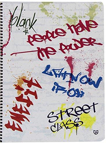 Unipapel Street Class - Cuaderno 03, 120 hojas, A4