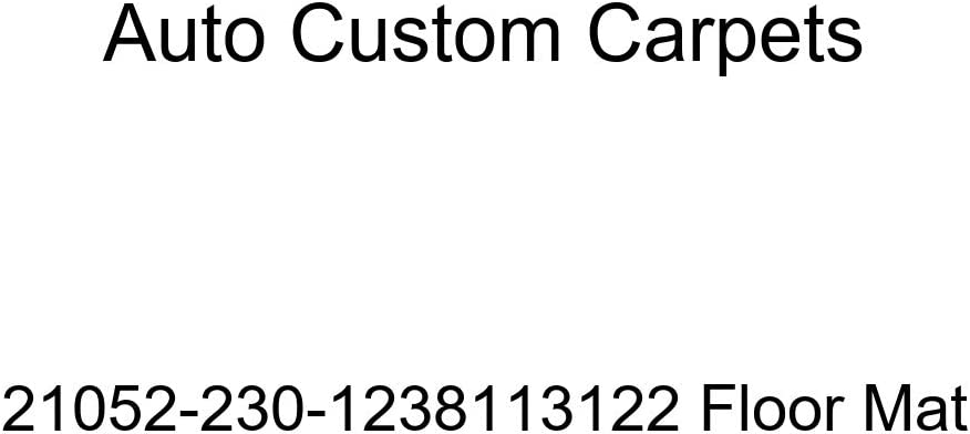 Auto Custom High quality Carpets 21052-230-1238113122 Mat In a popularity Floor