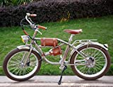 Shengmilo Bicicleta eléctrica Urbana 24 Pulgadas Bicicleta eléctrica Retro Bicicleta eléctrica Vintage Retro