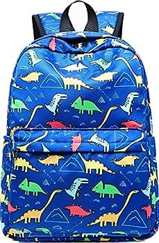 CAMTOP Preschool Backpack for Kids Boys Toddler Backpack Kindergarten School Bookbags  Cute Dinosaur-Dark Blue