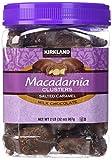 Kirkland Signature Macadamia Clusters Salted Caramel Milk Chocolate JAR of 2 Lb (32 Oz) - PACK OF 2