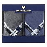 マリオ・ヴァレンティーノ 紳士ハンカチ2P