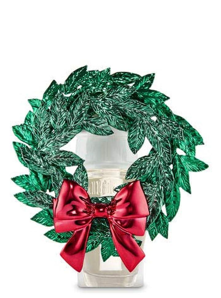 ブラザー政令宮殿【Bath&Body Works/バス&ボディワークス】 ルームフレグランス プラグインスターター (本体のみ) マグノリアリース Wallflowers Fragrance Plug Magnolia Wreath [並行輸入品]