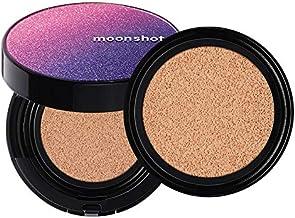 moonshot (ムーンショット) マイクロコレクトフィットクッション クッションファンデ [ 301 HONEY / SPF50+ PA+++ 12g ] セミマット 乾燥肌 〜 混合肌 におすすめ 自然な ツヤ肌 ムラなく 密着 カバー力...
