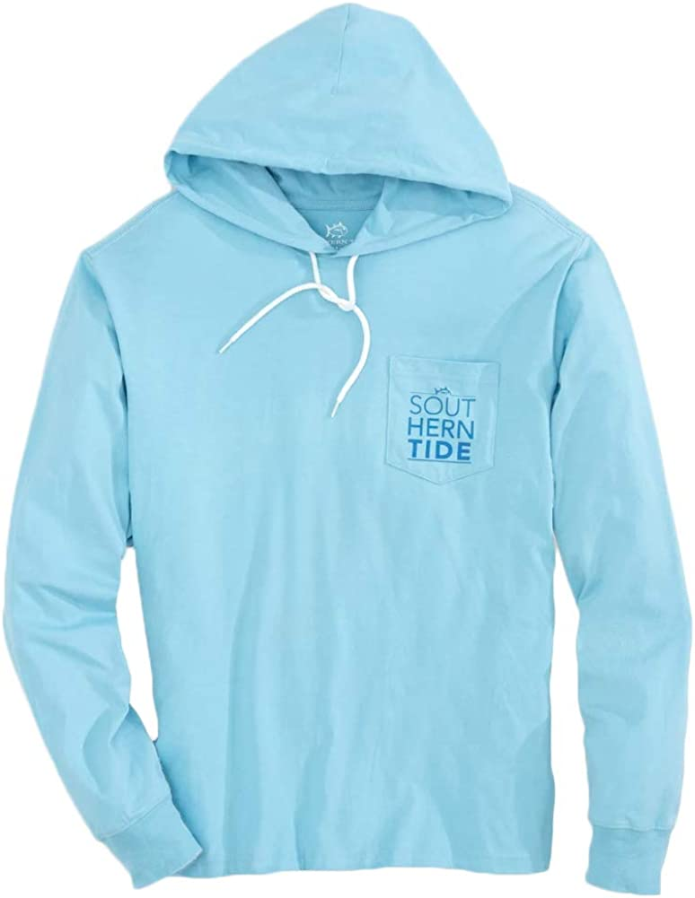 Southern Tide Men's Ls Stacked St Superior All items free shipping Tee Ocean Waves