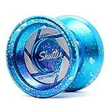 """YOYO FACTORY YoyoFactory Shutter - Galaxy (Yo-Yo del Campione del Mondo """"Gentry Stein"""", Corda e Istruzioni Incluse)"""