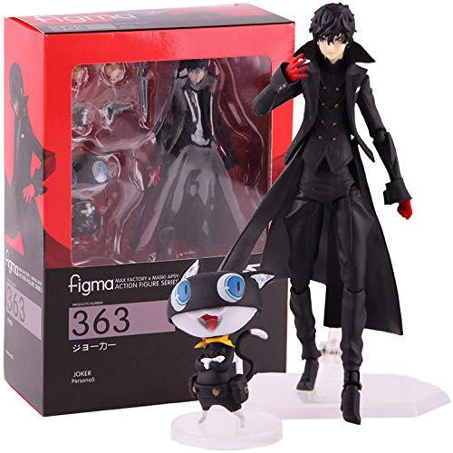 Nobranded Figma 363 Figuras de Persona 5 Shujinkou y Morgane Joker Ver. Juguete Coleccionable de PVC