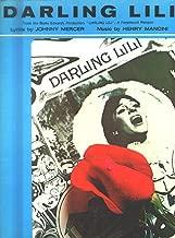 Darling Lili - Sheet Music - Julie Andrews Cover
