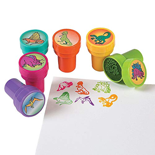 DINOSAUR STAMPS (2DZ) - Stationery - 24 Pieces