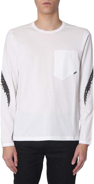 STONE ISLAND SHADOW PROJECT Men's 701920210V0099 White Cotton TShirt