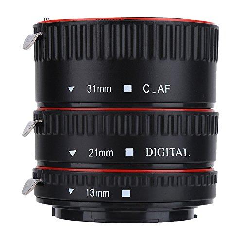 Vbestlife Autofokussierung Macro Extension Lens Adapter Rohr Ringe Set für Canon EOS EF Mount