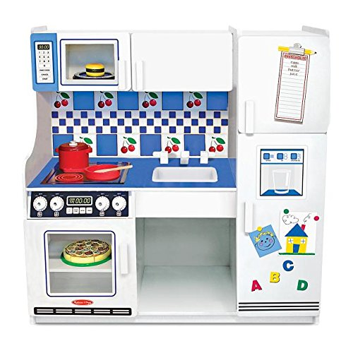 Amazon Com Melissa Doug Classic Deluxe Kitchen Melissa Doug Toys Games