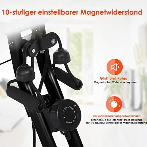 Fitness Trainingsrad ANCHEER 2 in 1 Heimtrainer Bild 2*