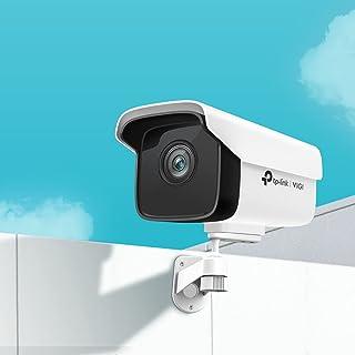 TP Link VIGI C300HP 3MP Outdoor Bullet Network Camera, H.265+, 6 mm Fixed Lens, Smart Detection, Night Vision,SmartVid, IP...