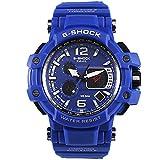 Herren Sportuhren LED Digital 50M wasserdichte beiläufige Uhr S Shock Male Clock Uhr für...