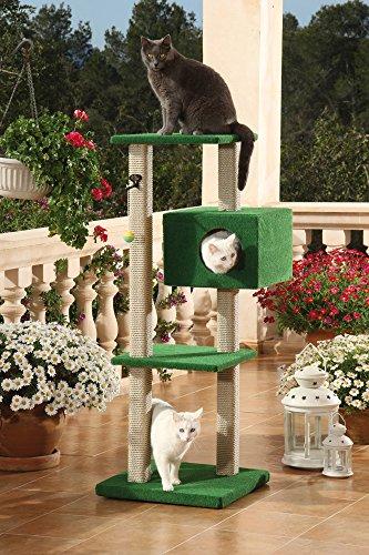 CLEVERCAT Outdoor Modell Portofino. Stabil und Standsicher Dank zweier Säulenstränge. Ideal für Terasse oder Balkon, Made in Germany (7432)