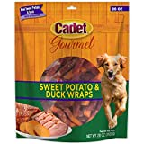 Cadet Gourmet Sweet Potato & Duck Wrapped Dog Treats 28 oz.