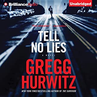 Tell No Lies audiobook cover art