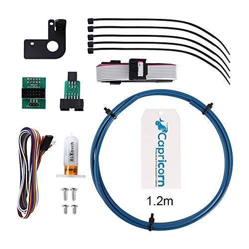 Creality Upgraded BL Touch V1 Auto Bed Leveling Sensor with 1.2M Capricorn Bowden Tubing for Ender 3/ Ender 3 Pro/Ender 5/CR -10/CR- 10S4/S5/CR20