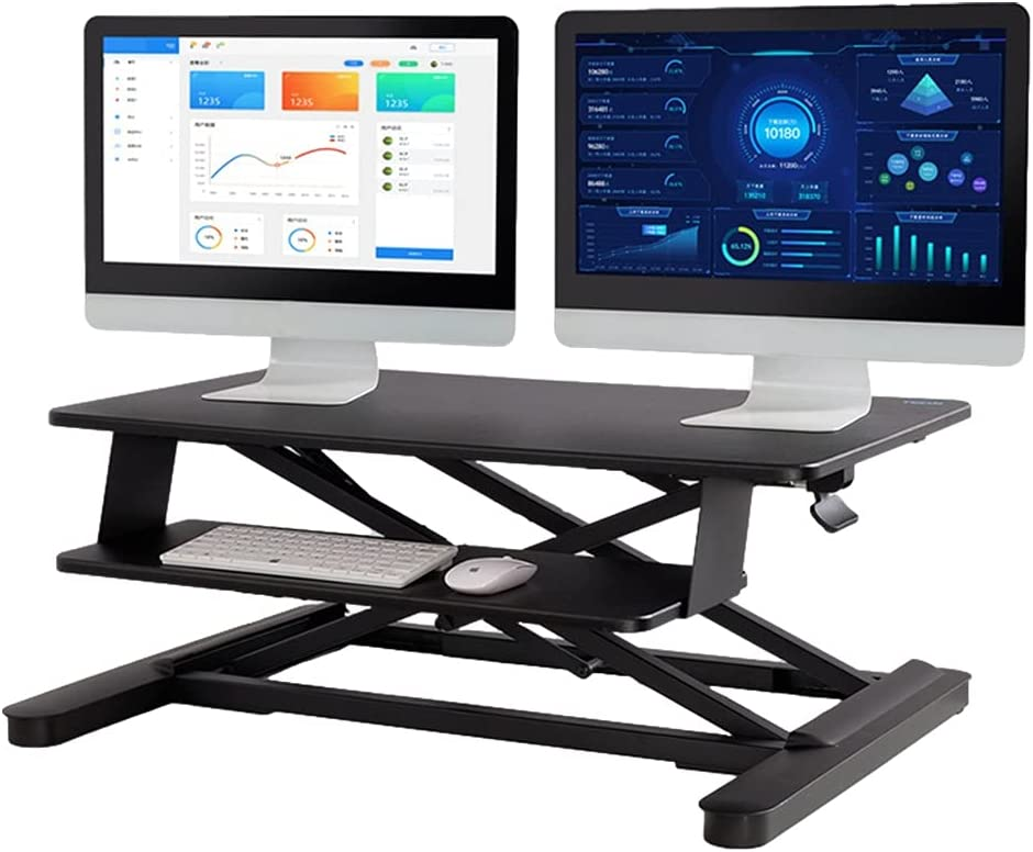 Height Adjustable Standing Up Desk 35.4inch Converter Detroit Mall Sit S 2021new shipping free shipping
