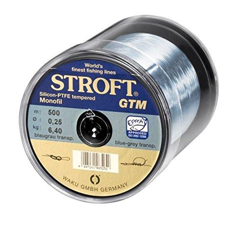 Stroft GTM 200m monofilament Blue grey transparent Monofile Angelschnur