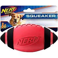 Nerf Dog Squeak Rubber Football Dog Toy