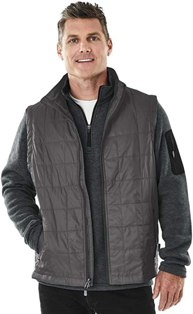 Charles River Apparel Men's Radius Quilted Packable Vest