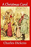 A Christmas Carol (Large Print Edition): Complete and Unabridged 1843 Edition (Illustrated) (Mnemosyne Classics)
