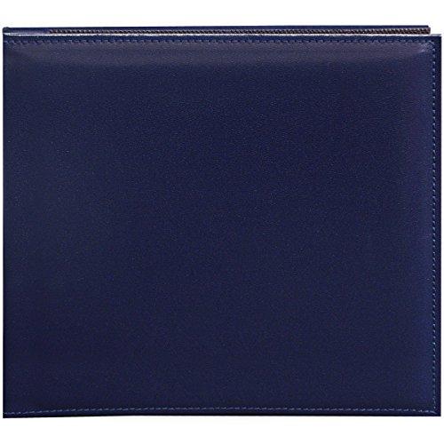 Pioneer 20,3 cm par 20,3 cm Snapload Cousu en Similicuir mémoire Livre, Bleu Marine