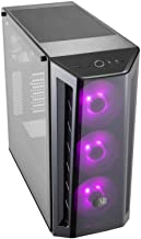 Cooler Master MasterBox MB520 RGB ATX Mid-Tower W/Front DarkMirror Panel, Front Side Mesh Intakes, Tempered Glass Side Panel & 3X 120mm RGB Fans w/RGB Controller