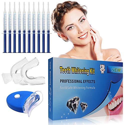 Teeth Whitening Kit,Zahnaufhellung Gel,Zähne Bleichen Bleaching Set,Professionelle Zahnaufhellung Kit,Home Zahnbleaching Kit gegen Gelbe & Graue Zähne