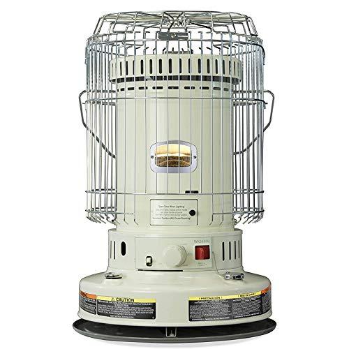 VCF 23,800 BTU Convection Style Kerosene Wick Heater, Indoor Kerosene Heater