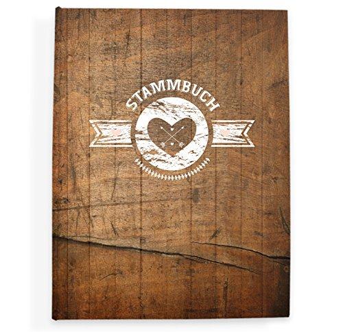 bigdaygraphix Stammbuch der Familie Familienstammbuch Hochzeit Urkunden Rusty Wood