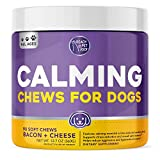 Natural Dog Calming Aid. Premium Formula with Hemp, Magnesium, L-Theanine, L-Tryptophan, and a calming herb blend, these dog calming treats support dog anxiety relief and overall calm behavior. Behavior Support. Our hemp calming treats for dogs are f...