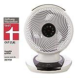 MeacoFan 1056 – Ventilator, sehr leise – perfekter Lüfter für Büro oder Schlafzimmer – mit Fernbedienung, Weiß