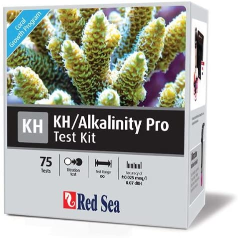 Red Sea Fish Pharm Branded goods ARE21410 Saltwater Test Pro Kit Easy-to-use KH Alkalinity