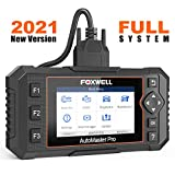 FOXWELL NT624 Elite OBD2 Scanner All Systems Car Diagnostic Tool for All Cars with Oil Light Reset and EPB Reset Service, Check Engine Code Reader for ABS SRS Transmission EPS HVAC